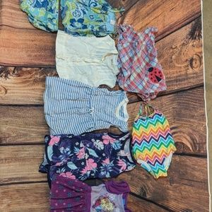 18 month girls summer clothing